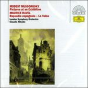 CD Quadri di un'esposizione di Modest Petrovich Mussorgsky
