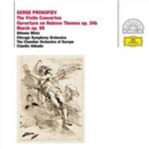 CD Concerti per violino di Sergei Sergeevic Prokofiev