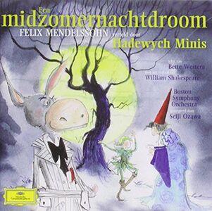 CD Midzomernachtdroom di Felix Mendelssohn-Bartholdy