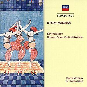Foto Cover di Scheherazade - Russian, CD di Nikolai Rimsky-Korsakov, prodotto da Eloquence