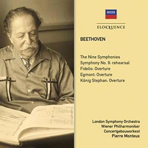 CD Nine Symphonies di Ludwig van Beethoven