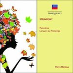 CD Petruskha; Le Sacre Du.. di Igor Stravinsky