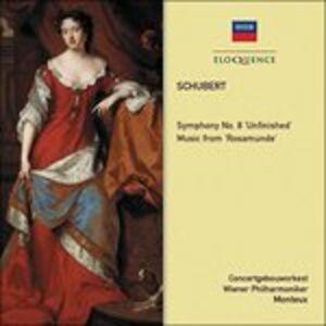 CD Sinfonia n.8 - Rosamunde di Franz Schubert