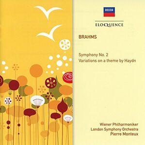 Foto Cover di Symphony, CD di Johannes Brahms, prodotto da Eloquence