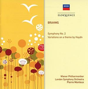 CD Symphony di Johannes Brahms