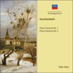 Foto Cover di Concerti per pianoforte n.1, n.2, CD di AA.VV prodotto da Eloquence
