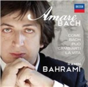CD Amare Bach di Johann Sebastian Bach