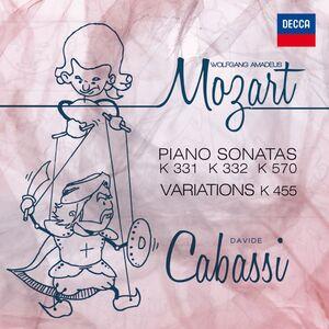 CD Sonate e variazioni di Wolfgang Amadeus Mozart