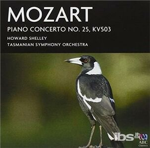 CD Concerti per Pianoforte No. 25 di Wolfgang Amadeus Mozart