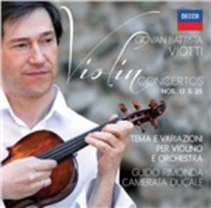 CD Concerti per violino n.12, n.25 di Giovanni Battista Viotti