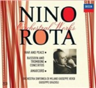 CD Musica orchestrale di Nino Rota