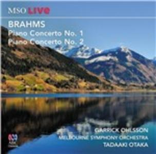CD Concerti per Pianoforte Nn. 1 & 2 di Johannes Brahms
