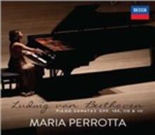 Sonate per pianoforte op.109, op.110, op.111 / Studio n.2 op.8 - CD Audio di Ludwig van Beethoven,Alexander Nikolayevich Scriabin,Maria Perrotta