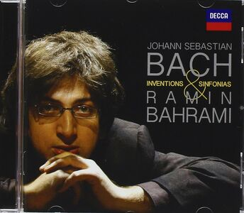 CD Invenzioni e sinfonie di Johann Sebastian Bach