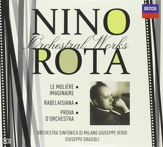 CD Musica orchestrale vol.3 di Nino Rota