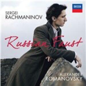 CD Russian Faust di Sergei Vasilevich Rachmaninov