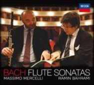 CD Sonate per flauto e pianoforte Johann Sebastian Bach Ramin Bahrami Massimo Mercelli