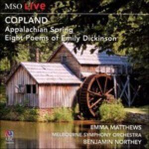 CD Appalachian Spring di Aaron Copland