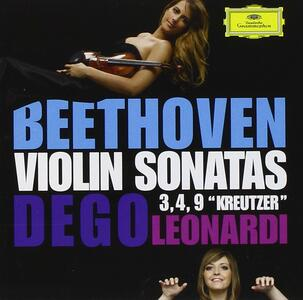 Sonate per violino n.3, n.4, n.9 - CD Audio di Ludwig van Beethoven,Francesca Leonardi,Francesca Dego