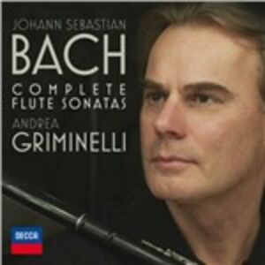 CD Sonate per flauto di Johann Sebastian Bach