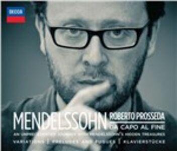 CD Mendelssohn. Da capo al fine di Felix Mendelssohn-Bartholdy