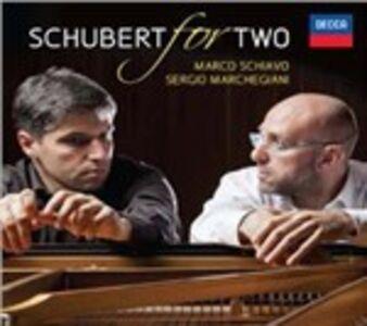 Foto Cover di Schubert for Two, CD di AA.VV prodotto da Decca