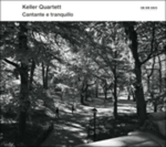 Foto Cover di Cantante e Tranquillo, CD di Quartetto Keller, prodotto da ECM Records