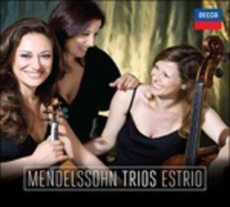 Foto Cover di Trii, CD di Felix Mendelssohn-Bartholdy,Estrio, prodotto da Universal Classic