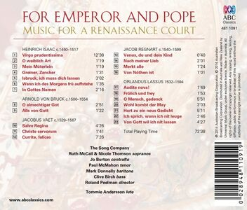 CD For Emperor and Pope  1