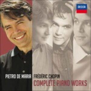 Foto Cover di Complete Piano Works, CD di Fryderyk Franciszek Chopin,Pietro De Maria, prodotto da Universal Classic