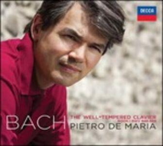 CD Il clavicembalo ben temperato vol.1 (Das Wohltemperierte Clavier teil 1) di Johann Sebastian Bach