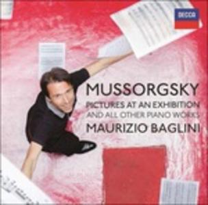 CD Complete Piano Works di Modest Petrovich Mussorgsky