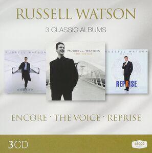 Foto Cover di 3 Classic Albums, CD di Russell Watson, prodotto da Decca