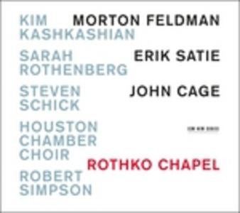 CD Music for Rothko Erik Satie , John Cage , Morton Feldman