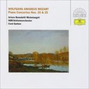 CD Concerti per pianoforte n.20, n.25 di Wolfgang Amadeus Mozart