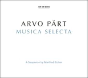 Foto Cover di Musica Selecta, CD di Arvo Pärt, prodotto da ECM Records