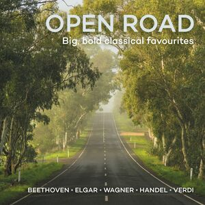 CD Open Road. Big Bold