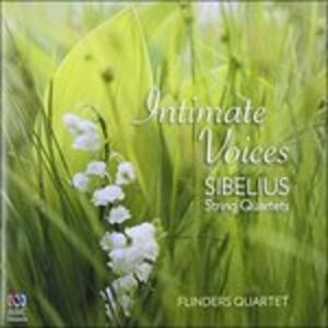 CD Intimate Voices di Jean Sibelius