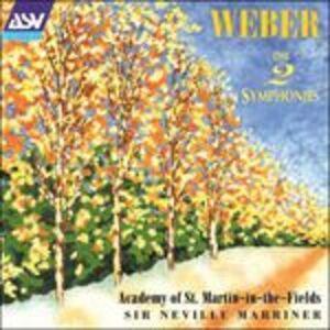 CD Le due sinfonie di Carl Maria Von Weber