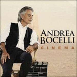 Foto Cover di Cinema, CD di Andrea Bocelli, prodotto da Universal