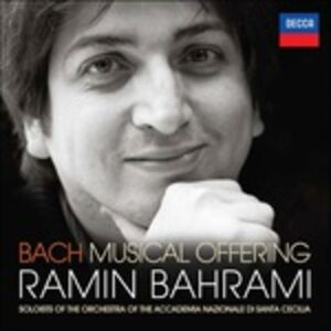 Foto Cover di L'offerta musicale (Die Musikalisches Opfer), CD di Johann Sebastian Bach,Ramin Bahrami, prodotto da Decca