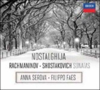 CD Sonata per violoncello e pianoforte op.20 / Sonata per viola e pianoforte op.147 Sergei Vasilevich Rachmaninov , Dmitri Shostakovich