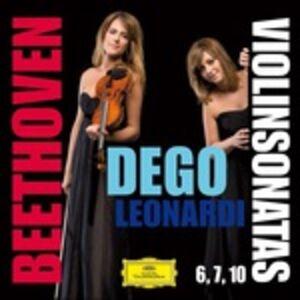 CD Sonate per violino e pianoforte n.6, n.7, n.10 di Ludwig van Beethoven
