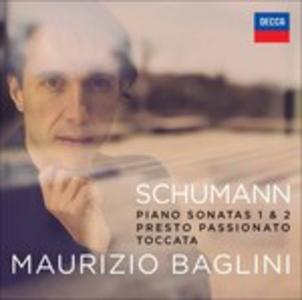 CD Sonate per pianoforte op.22, op.11 - Toccata op.7 di Robert Schumann