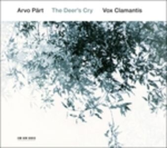Foto Cover di Deer's Cry, CD di Arvo Pärt, prodotto da ECM Records