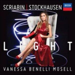 CD Light Alexander Nikolayevich Scriabin , Karl-Heinz Stockhausen