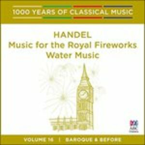CD Music for Royal di Georg Friedrich Händel