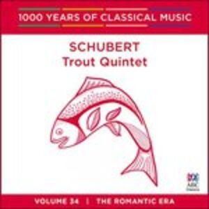 CD Trout Quintet di Franz Schubert