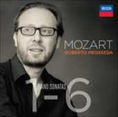 CD Sonate per pianoforte n.1, n.2, n.3, n.4, n.5, n.6 Wolfgang Amadeus Mozart Roberto Prosseda