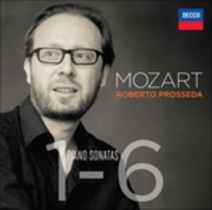 CD Sonate per pianoforte n.1, n.2, n.3, n.4, n.5, n.6 di Wolfgang Amadeus Mozart